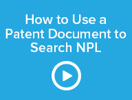 How to Use a Patent Document to Search NPL
