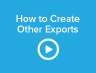 How to Create Other Exports