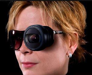 Image from advertisement for the Kodak Eye Camera