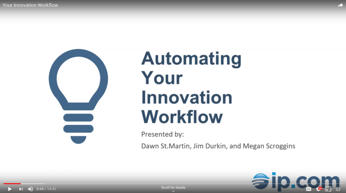 Automating your Innovation Workflow