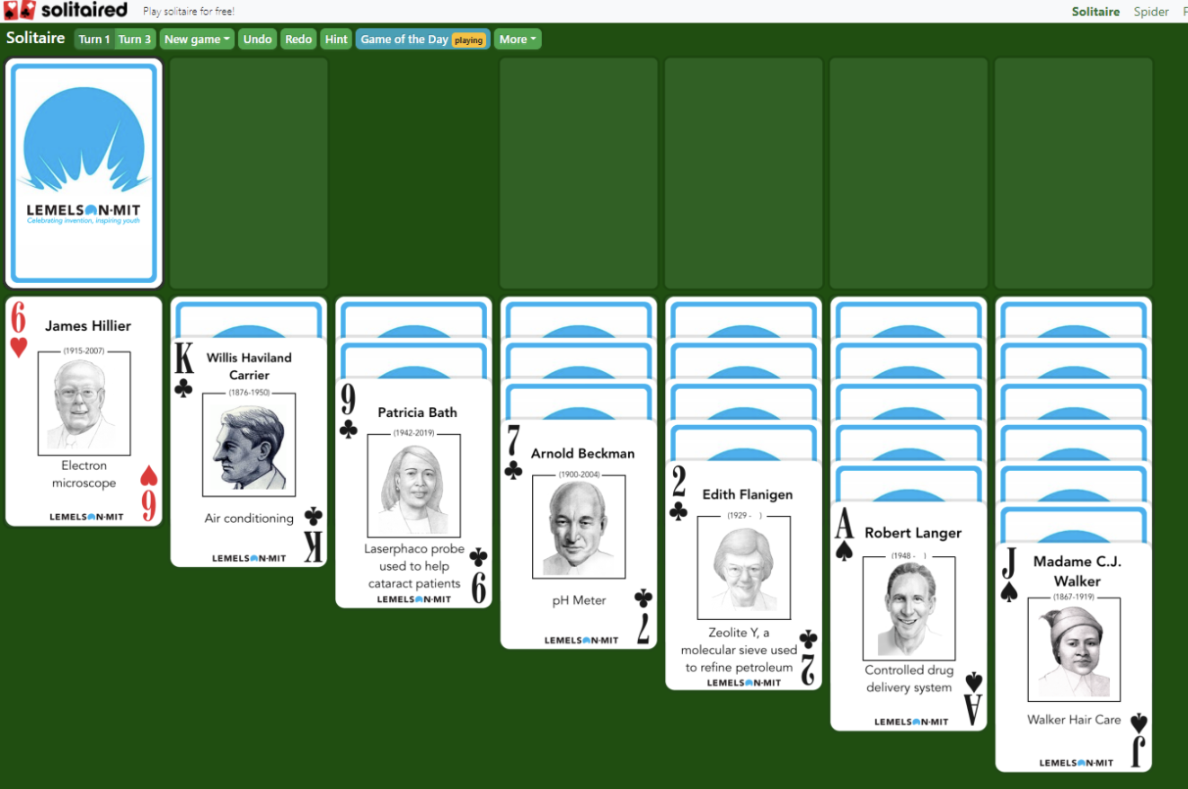 What is Solitaire: Lemelson MIT?